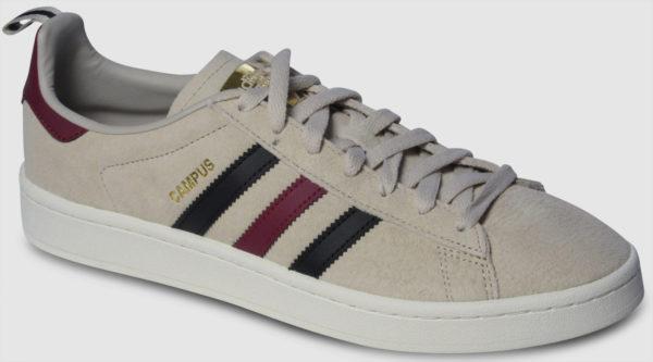 Adidas Originals Campus - beige-black-bordeaux