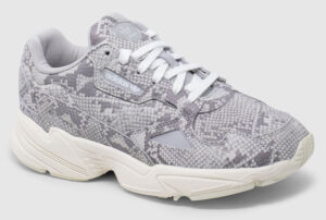 Adidas Originals Falcon Leather Women - snake grey