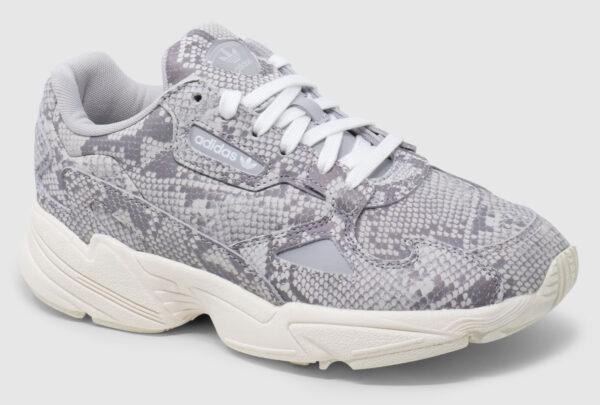 Adidas Originals Falcon Leather Women - snake grey
