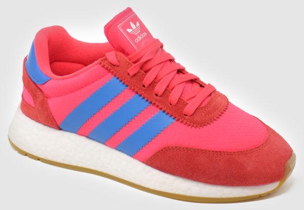 Adidas Originals I-5923 Women - shock red-true blu