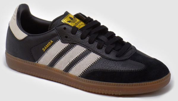 Adidas Originals Samba OG Leather - black-raw white