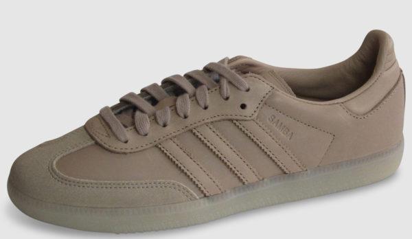 Adidas Originals Samba Premium Leather Women - ash pearl