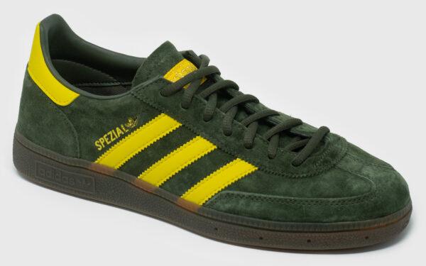 Adidas Originals Spezial Suede - night cargo-yellow