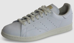 Adidas Originals Stan Smith Leather - white-off white-green