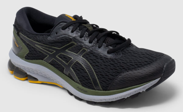 Asics GT-1000 Goretex - black-smog green