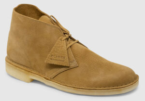 Clarks Originals Desert Boot Nubuck - oak