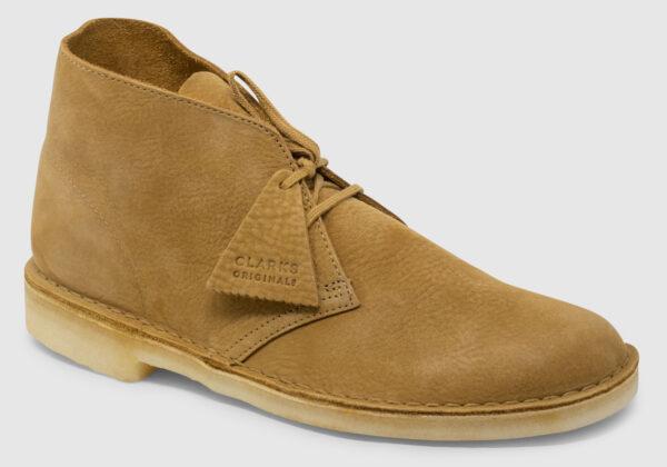 Clarks Originals Desert Boot Nubuck - oak