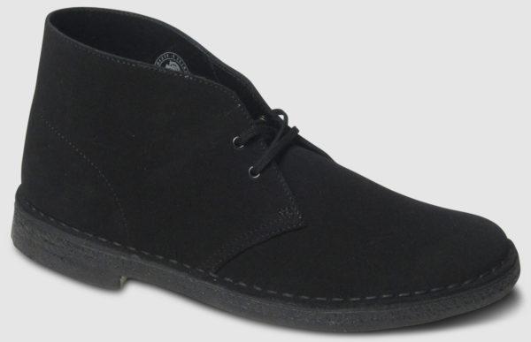 Clarks Originals Desert Boot Suede Women - black