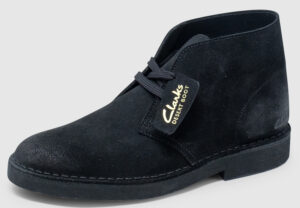 Clarks Desert Boot 2 Suede Women - black