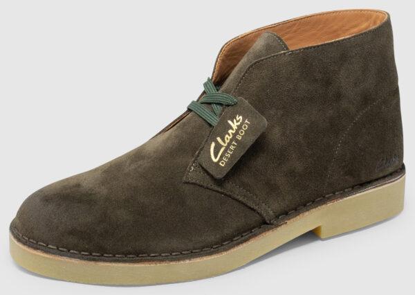 Clarks Desert Boot 2 Suede - dark olive