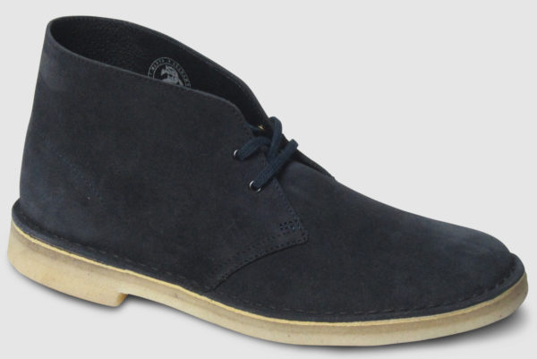 Clarks Originals Desert Boot Suede - ink