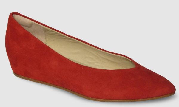Clarks Sense Lula Suede Women - red