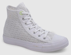 Converse All Star Crocheted Hi Women - white