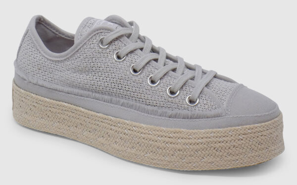 Converse All Star Espadrille Crocheted - mouse