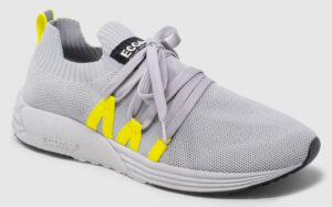Ecoalf Bora Women - grey-yellow