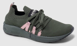 Ecoalf Bora Women - olive-dusty pink