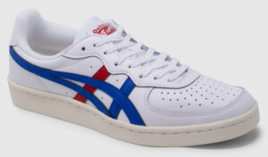 Onitsuka Tiger GSM Leather - white-blue-red