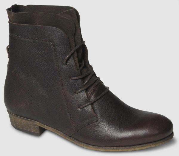 Hub Hally Leather Women - dark brown