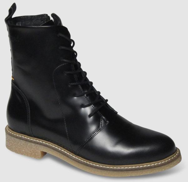 Hub Vagos Leather Women - black