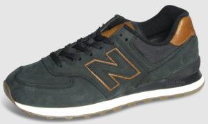 New Balance ML574 Nubuck - black