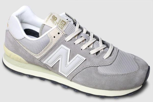 New Balance ML574 Suede Mesh-steel grey