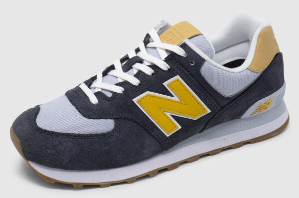 New Balance ML574 - dark grey-yellow