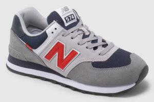 New Balance ML574 - grey-red