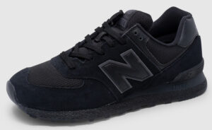 New Balance MT574 Suede - all black