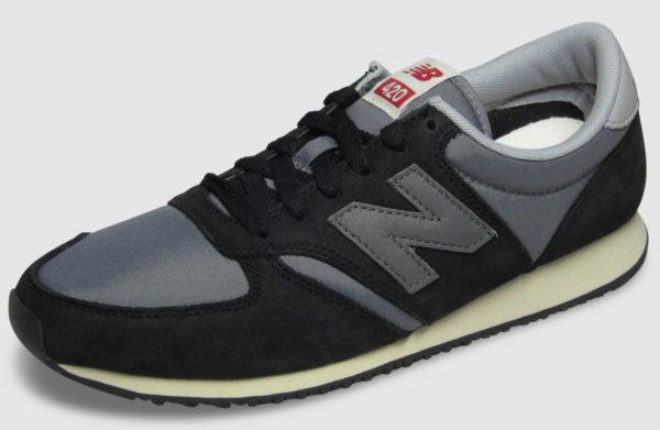 New Balance U420 - black-grey
