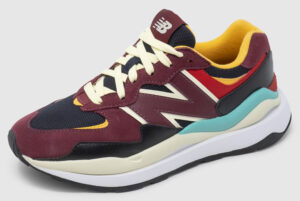 New Balance W5740 Women - bordeaux-black-citrus