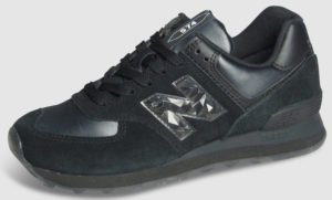 New Balance WL574 Leather Women - black mono