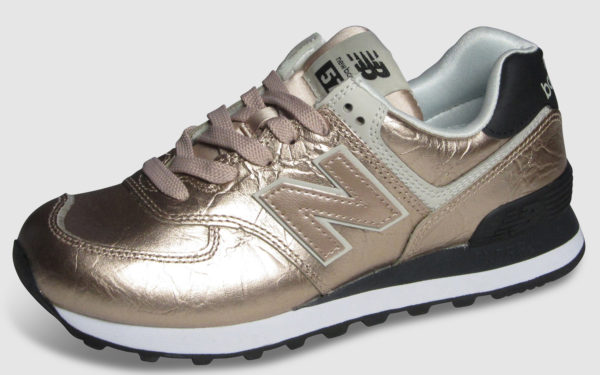 New Balance WL574 Leather Women - rose gold
