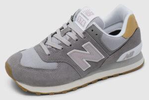 New Balance WL574 Suede Women - grey