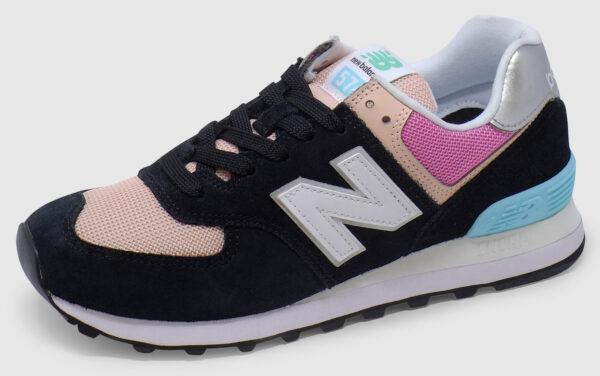 New Balance WL574 Women - black-pink