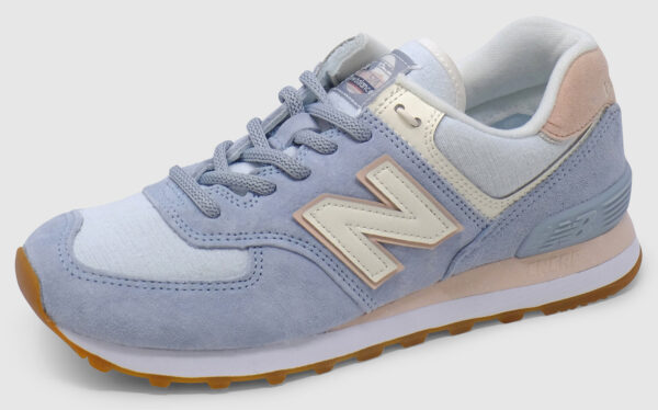 New Balance WL574 Women - light blue