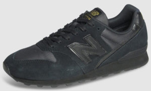 New Balance WL996 Suede Women - black mono