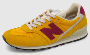 New Balance WL996 Women - yellow