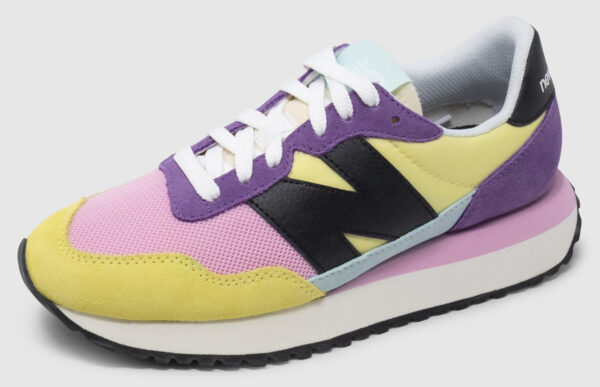 New Balance WS237 Women - lemon haze-pink