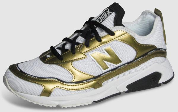 New Balance X-Racer Women - white-gold