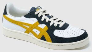 Onitsuka Tiger GSM Recycled Leather - white-yellow