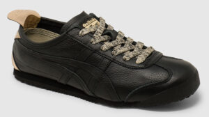 Onitsuka Tiger Mexico 66 Leather Women - black-gold