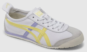 Onitsuka Tiger Mexico 66 Leather Women - white-light yellow