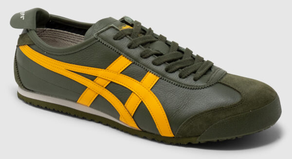Onitsuka Tiger Mexico 66 Leather - smog green-amber