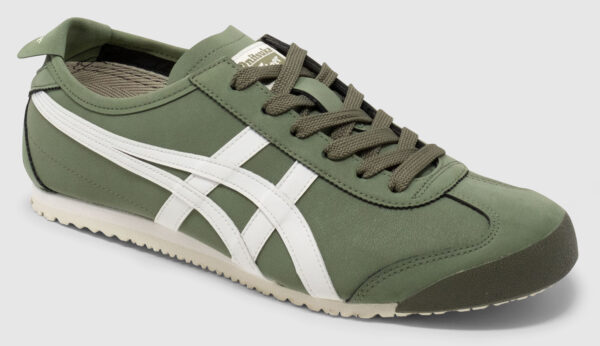 Onitsuka Tiger Mexico 66 Recycled Leather - green-cream