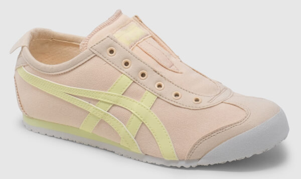 Onitsuka Tiger Mexico 66 Slip-On Canvas Women - cozy pink-yellow