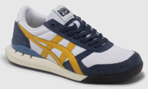 Onitsuka Tiger Ultimate 81 Ex Smooth Leather - white-blue-golden glow