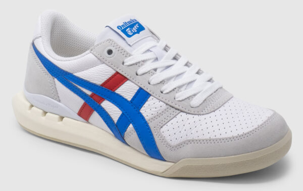 Onitsuka Tiger Ultimate 81 Ex Smooth Leather - white-blue-red