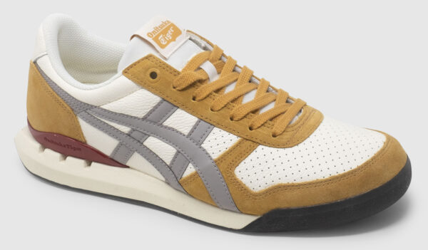 Onitsuka Tiger Ultimate 81 Ex Smooth Leather - white-grey-tan