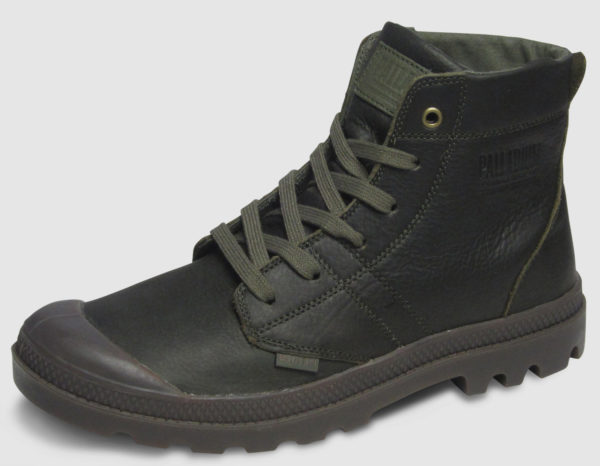 Palladium Pallabrousse Leather  - olive