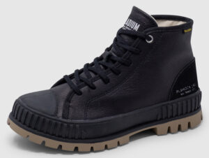 Palladium Pallashock Mid Leather Women - black